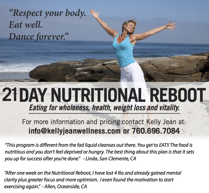 21 Day Nutritional Reboot